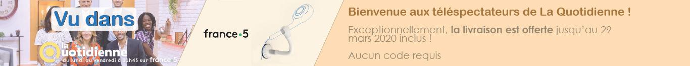 Promotion spéciale La Quotidienne Frais de port offerts